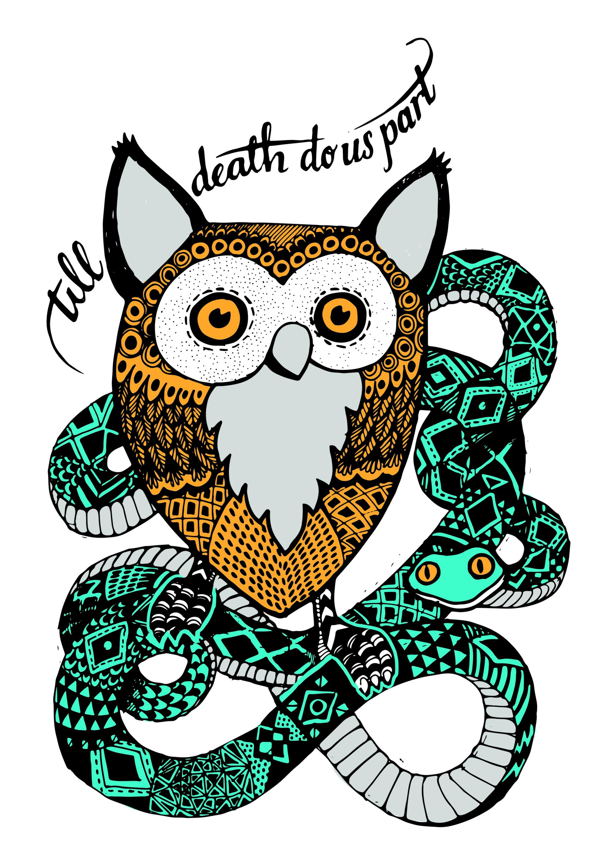 owl and snake 2