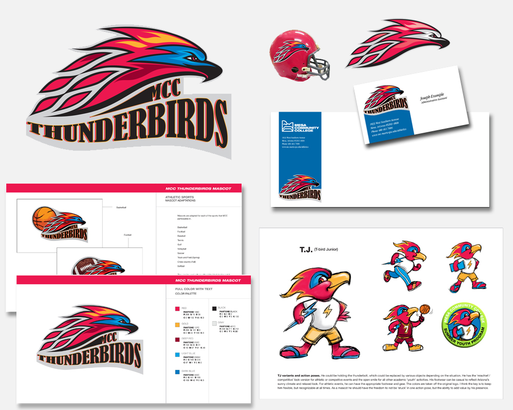 Graphic Identity - MCC Thunderbirds