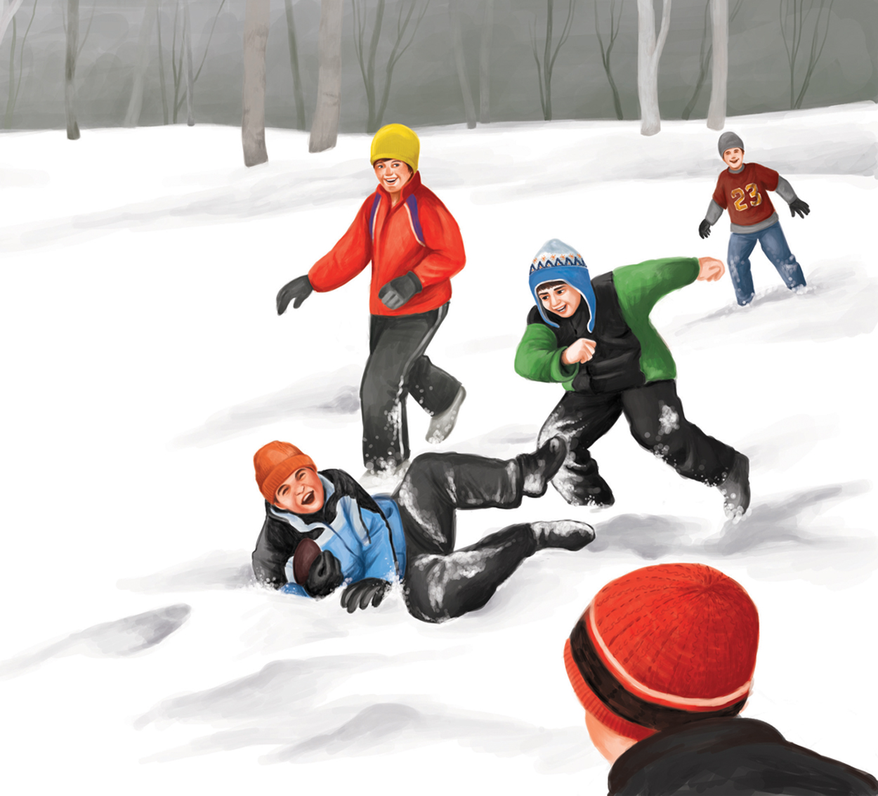 Snow Football!