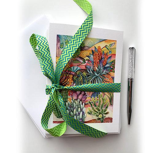 Desert Beauty Card + Envelope set