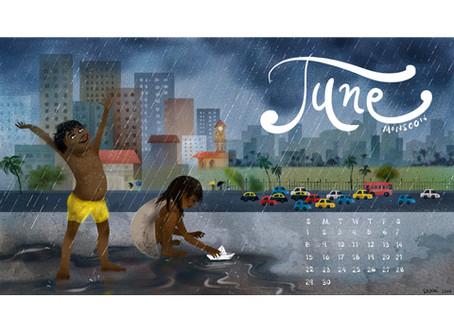June Calendar for you