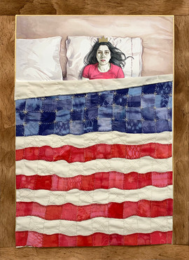 Was There Any Point In Waking Up, Thought Sleeping Beauty? She Had No Job, Thanks To Her H4 Visa, No Income As A Result, Nowhere To Go, No Friends To Go With...Heck She Couldn't Even Drive! Who Was She Anymore? Maybe She'd Just Stay In Bed And Wake Up When She Found Herself Again.