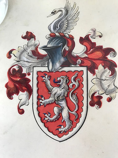 Arms of Ethel Eveleen Lady Gray, 1920