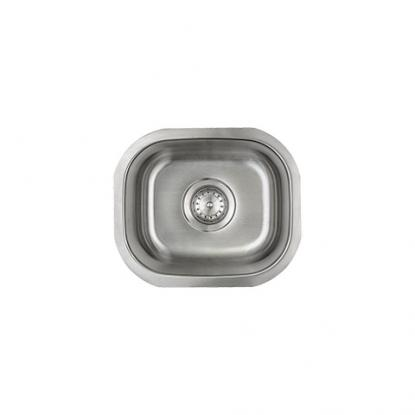 Small Single Stainless Kitchen Sink (1512)
