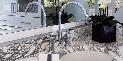 Bathroom Marble Counter