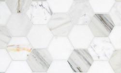 Tile - Hexagon Marble