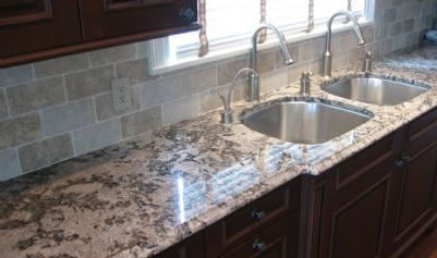 Finished Kitchen Counter