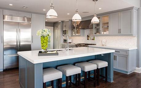 Island Kitchen - Quartzite