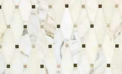 Tile - Mosaic Vanilla Diamonds