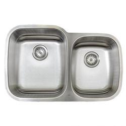 Uneven Double Bowl Kitchen Sink (M603)
