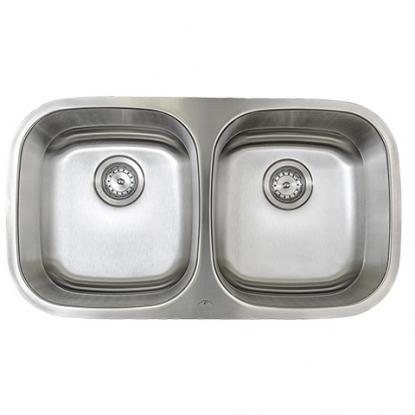 Equal Double Bowl Kitchen Sink (M602)