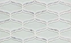 Tile - Glass Seafoam Lantern Design