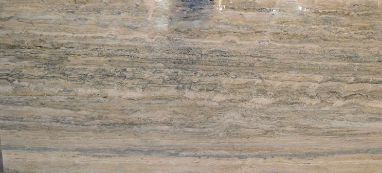 Travertine - Silver