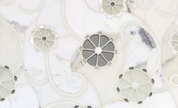 Tile - Mosaic Stone Floral