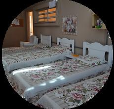 Quarto Dormitório Donna Care Lar de idosos Geriatria em Porto Alegre RS Rio Grande do Sul