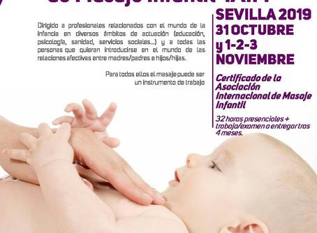 Curso Formación Masaje Infantil IAIM Sevilla 2019