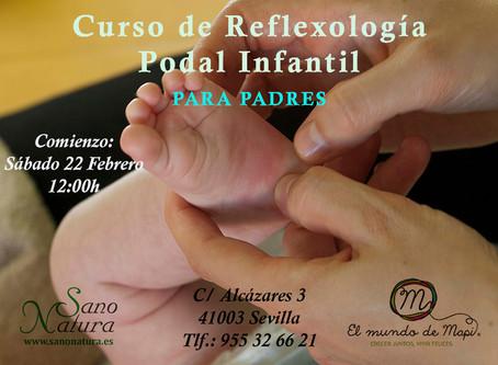 Curso Reflexología Podal Infantil
