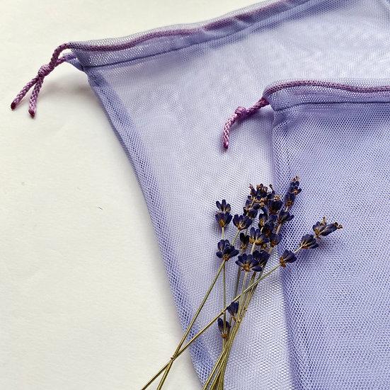 Экомешок из сетки Lavender