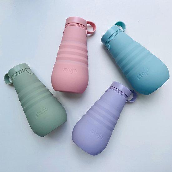 Складная силиконовая бутылка Stojo