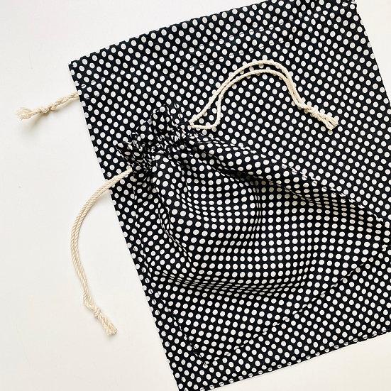 Экомешок для подарка B&W Dance