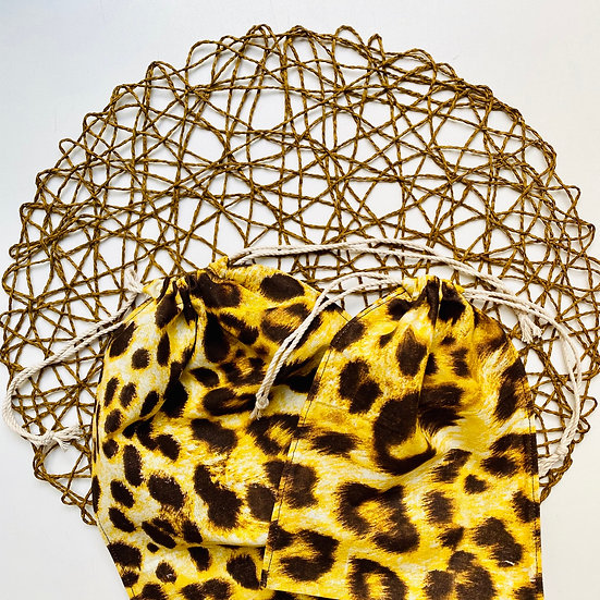 Экомешок из бязи Leopard