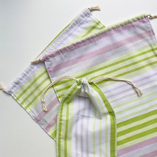 Экомешок из бязи Summer Stripes