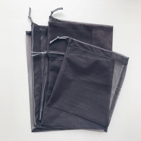 Экомешок из сетки Dark grey