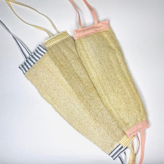 Мочалка для тела из натуральной люфы
