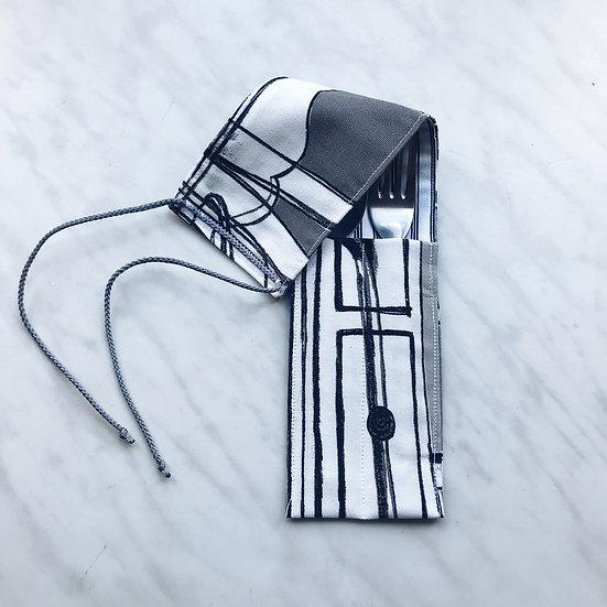 Пенал для столовых приборов Grey Orchestra