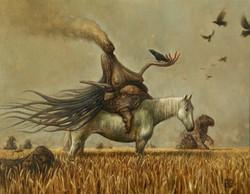 Murder in the Wheat field