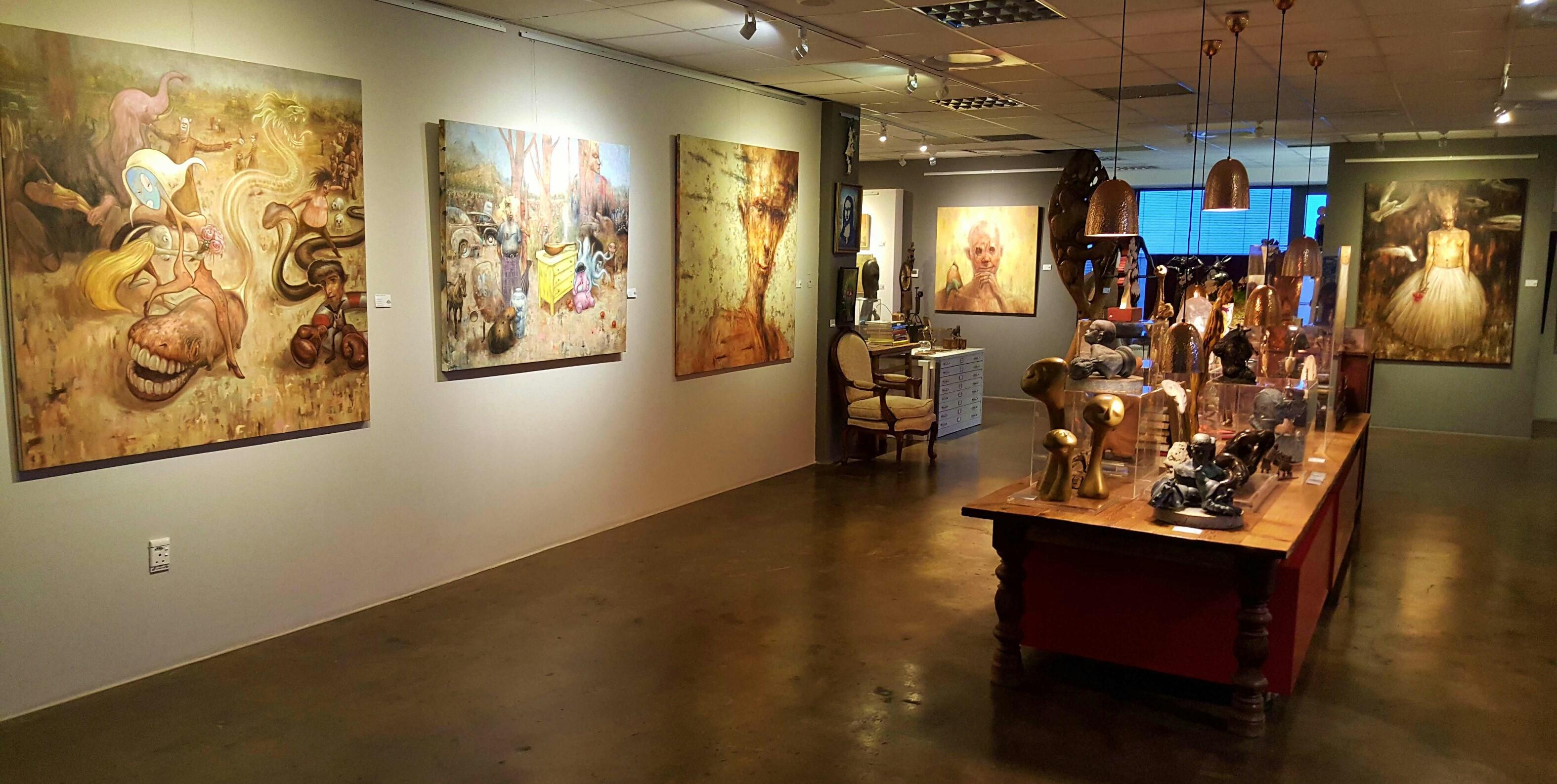 Solo ART EYE Exhibition - Brad Gray