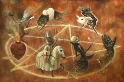 Here we go round the Pentagram