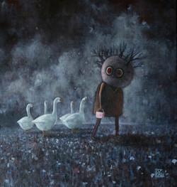 6 Pilgrims -  - Brad Gray Artist