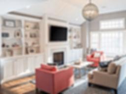custom living room cabinets