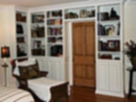 custom wall bookshelves