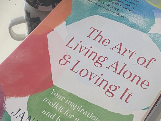 The Art of Living alone & Loving it- the book