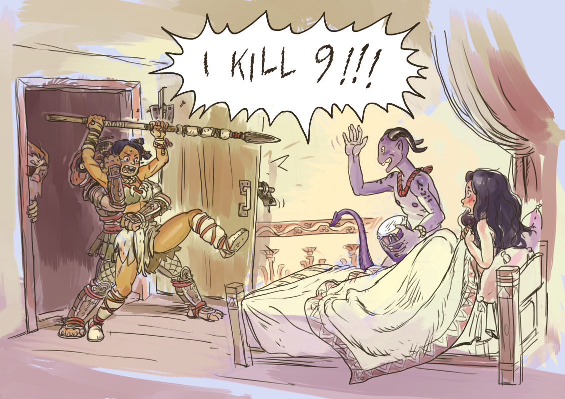 infidelity in DnD