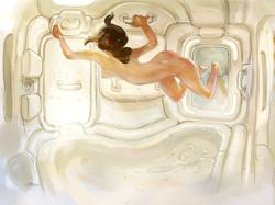 Orbital Shower Room