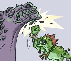gargoyle abuse in DnD