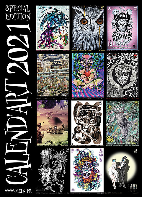 Calend'Art 2021 (special edition)