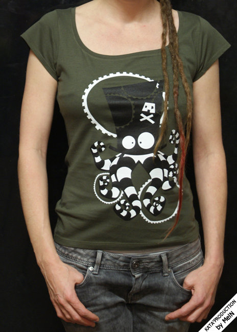 T-shirt femme KATA'PIRATE