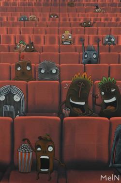 Ciném'Action 66x100cm, 2017