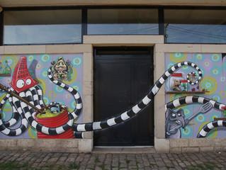 AU PIED DES MURS #1 festival street art à Lure