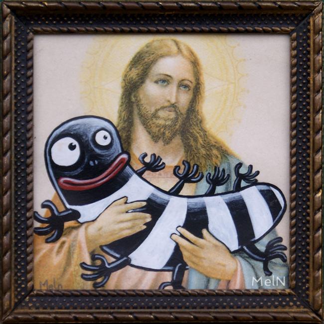 L'ami chatouille et Jésus, 2015