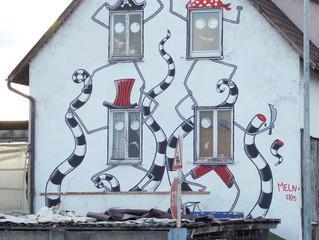 Street art au COMPLEX23 à Heilbronn (Allemagne)