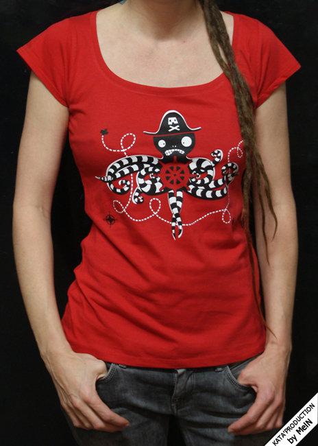 T-shirt femme KAP'TAIN