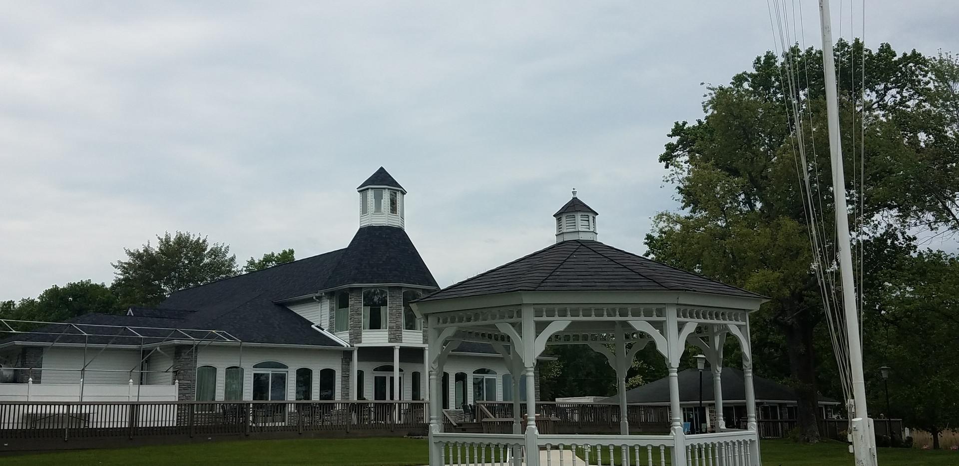 Big House, Gazebo, Flag Pole