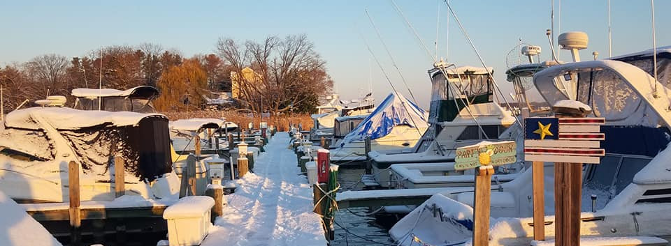 Winter on the piers!