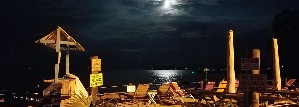 EYC Beach at Night