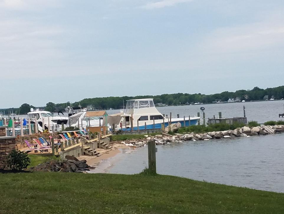 Beach and A Pier